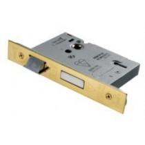 LSB5530pvd 76mm stainless brass 5 Lever(British Standard)