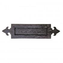 Carlisle Brass Ludlow Black Antique LF5525 Fleur de Lys Letter Plate