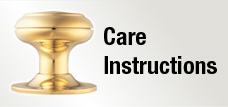 Door Handle Care Instructions